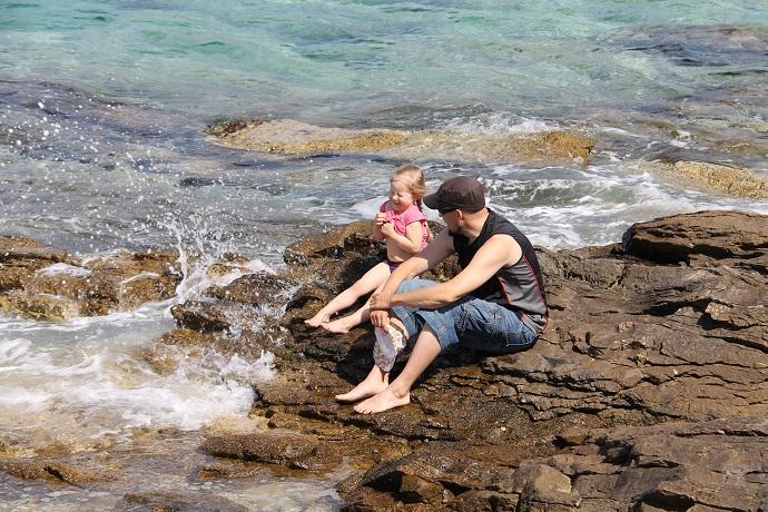 Hvar-saari on Splitin edustalla Kroatiassa