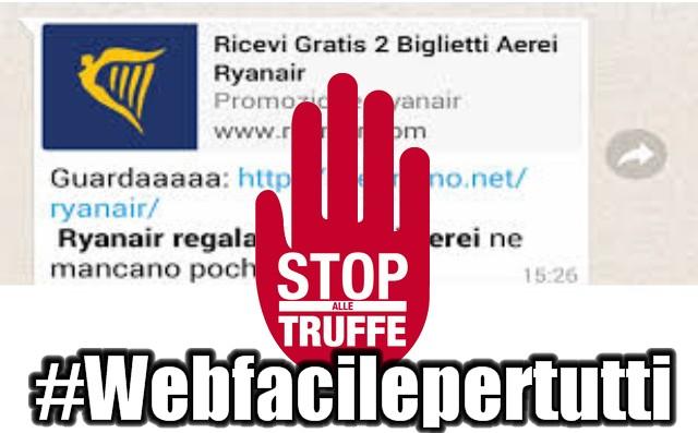 WhatsApp | Attenti alla nuova truffa dei biglietti RyanAir gratis - Ecco come difendersi