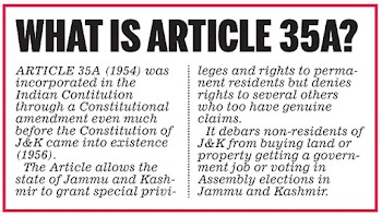 What is Article 35 A?
