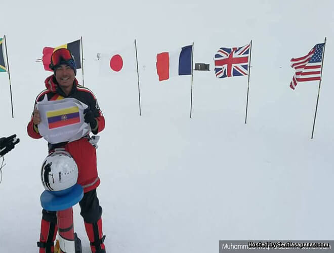 Qobin Rakyat Malaysia Pertama Tawan 7 Puncak Gunung Tertinggi Di Dunia!