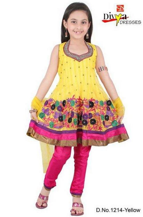 28656a5f8 Female Fashion About  Latest Anarkali Dresses For Kids