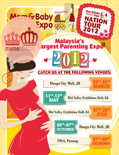 mom and baby expo 2012 march may july october december midvalley danga bay pisa - EVENT - [ENDED] Mom & Baby Expo 2012