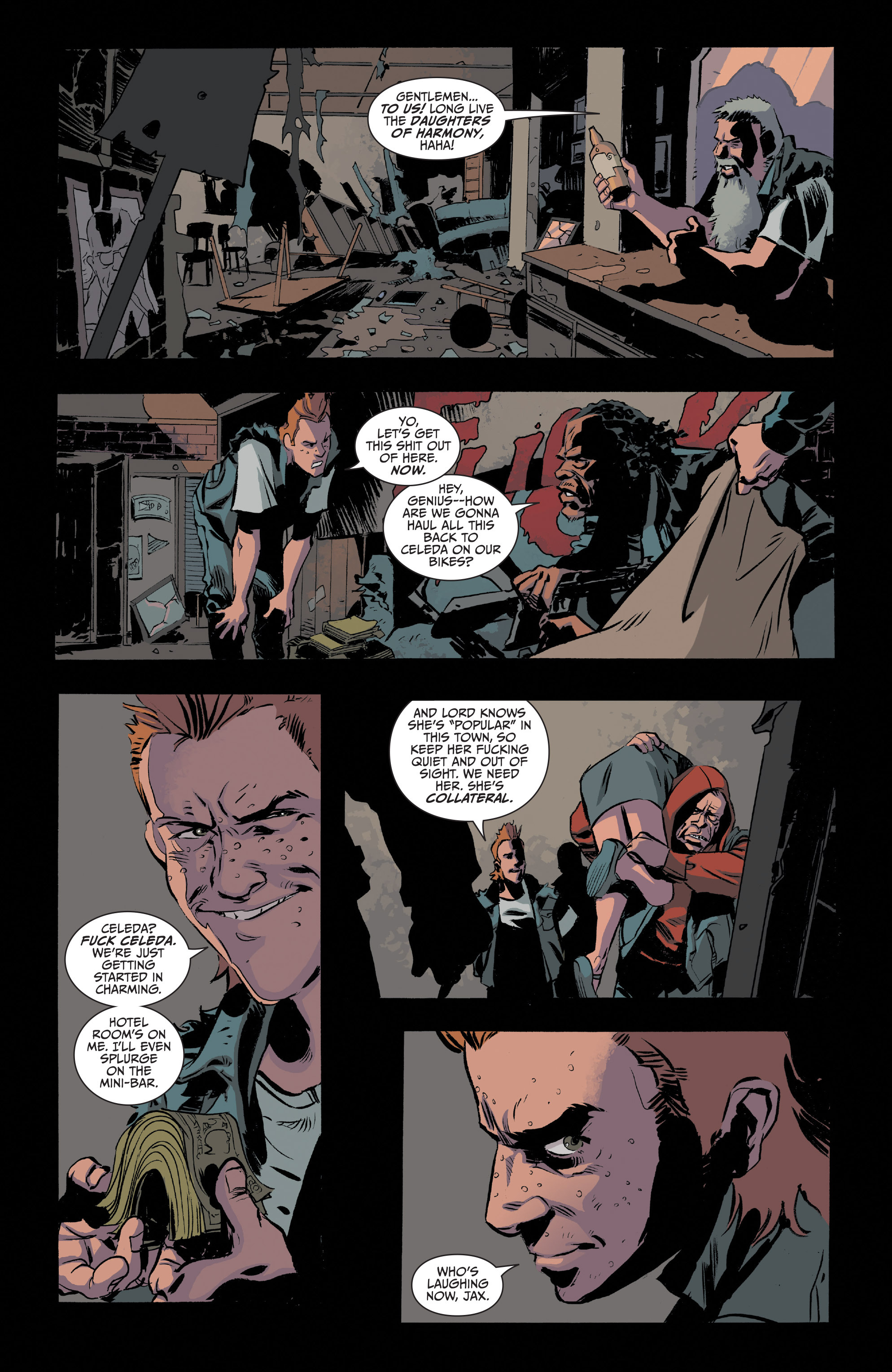 Read online Sons of Anarchy comic -  Issue #20 - 23