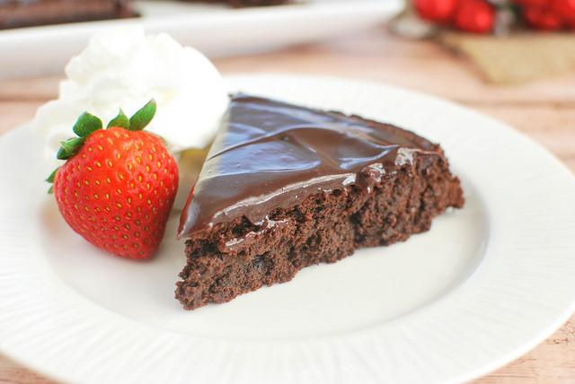 http://fakeginger.com/flourless-chocolate-cake/