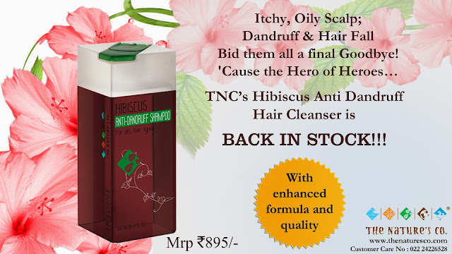 Back In Stock on Popular Demand     The Nature's Co. Season's Essential - Hibiscus Anti-Dandruff Hair Cleanser