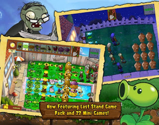 Plants vs Zombies FREE game populer 2015