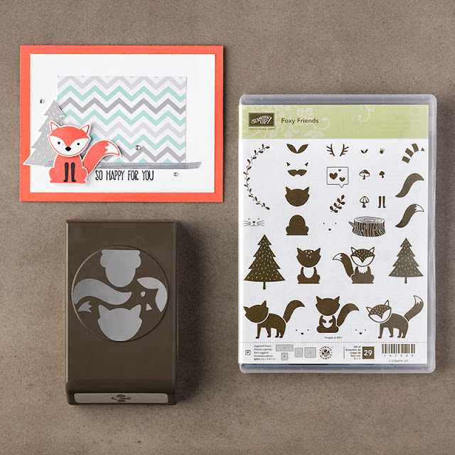 Foxy Friends Bundle - Narelle Fasulo - Simply Stamping with Narelle - available here - http://www3.stampinup.com/ECWeb/ProductDetails.aspx?productID=142326&dbwsdemoid=4008228