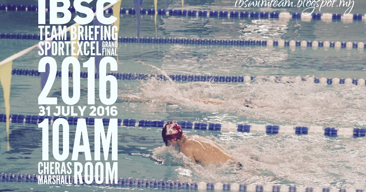 Ikan Bilis Swimming Club 1971 Kl Ibsc Team Briefing For Sportexcel Grand Final 2016