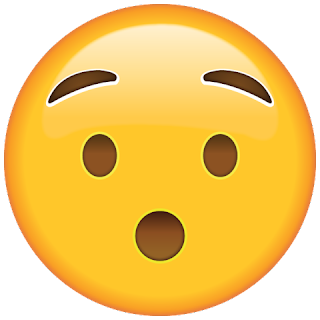 WhatsApp Hushed Face Emoji