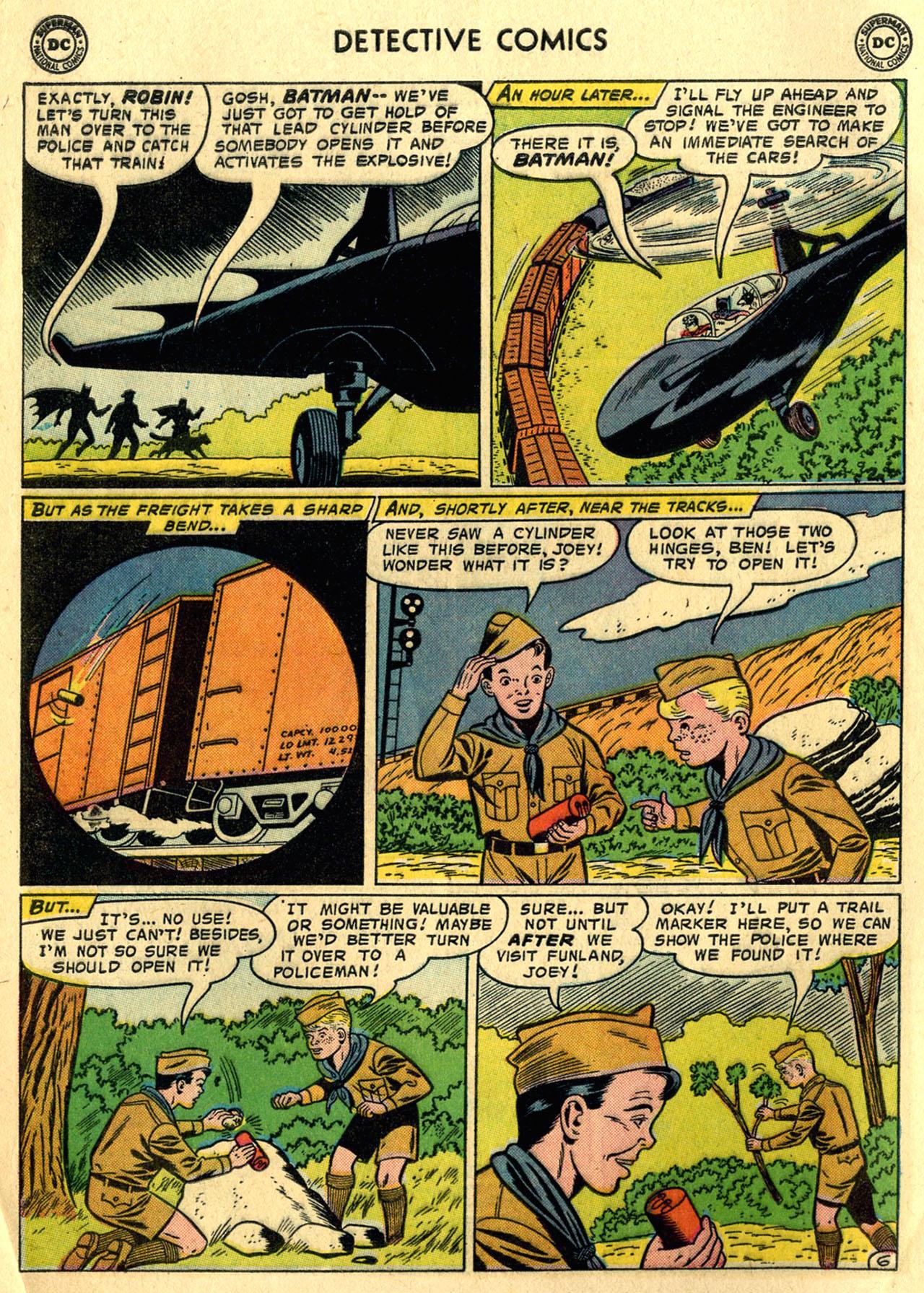 Detective Comics (1937) 254 Page 7