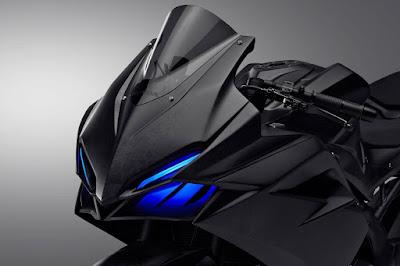 Honda 2016 CBR250RR front LED headlight image