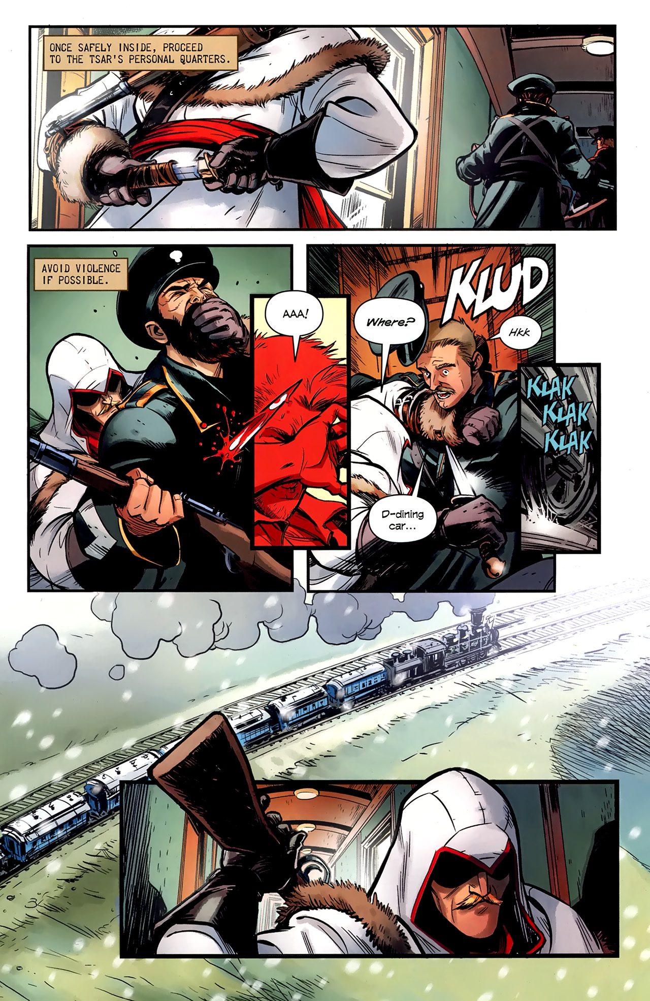 Read online Assassin's Creed: The Fall comic -  Issue #1 - 13