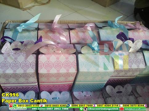 jual Paper Box Cantik
