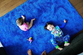 Baby Nap We Bought A Blue Rug