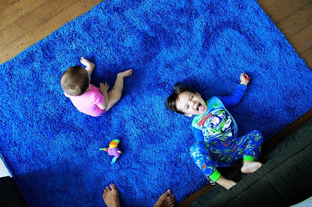 Bright Blue Rugs Furniture Shop