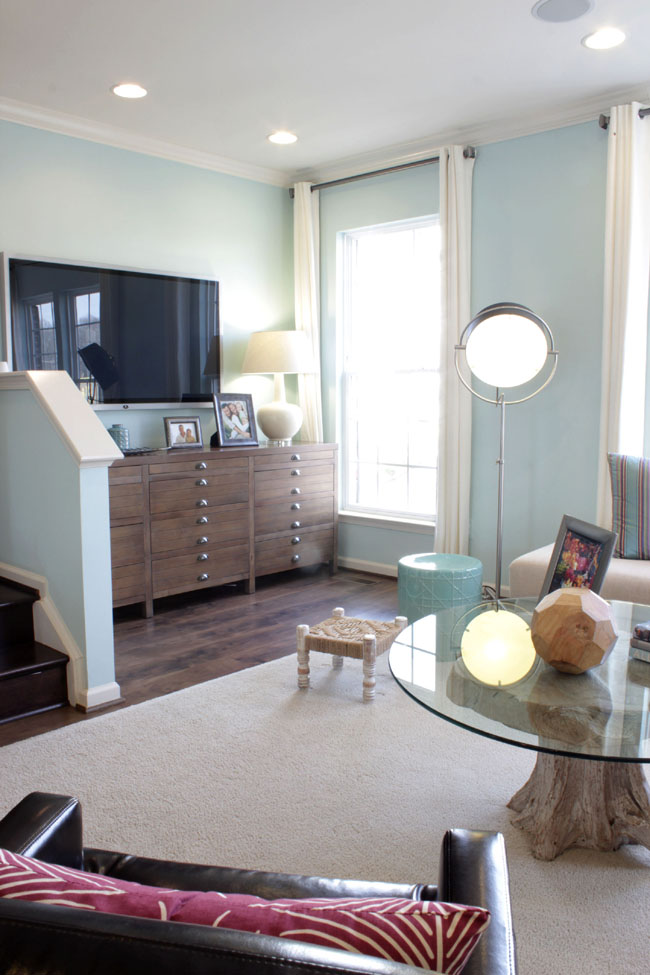Add storage and organization to your rooms with furniture