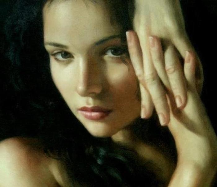 Kiéra Malone | French Realistic Figurative painter | Suggestions