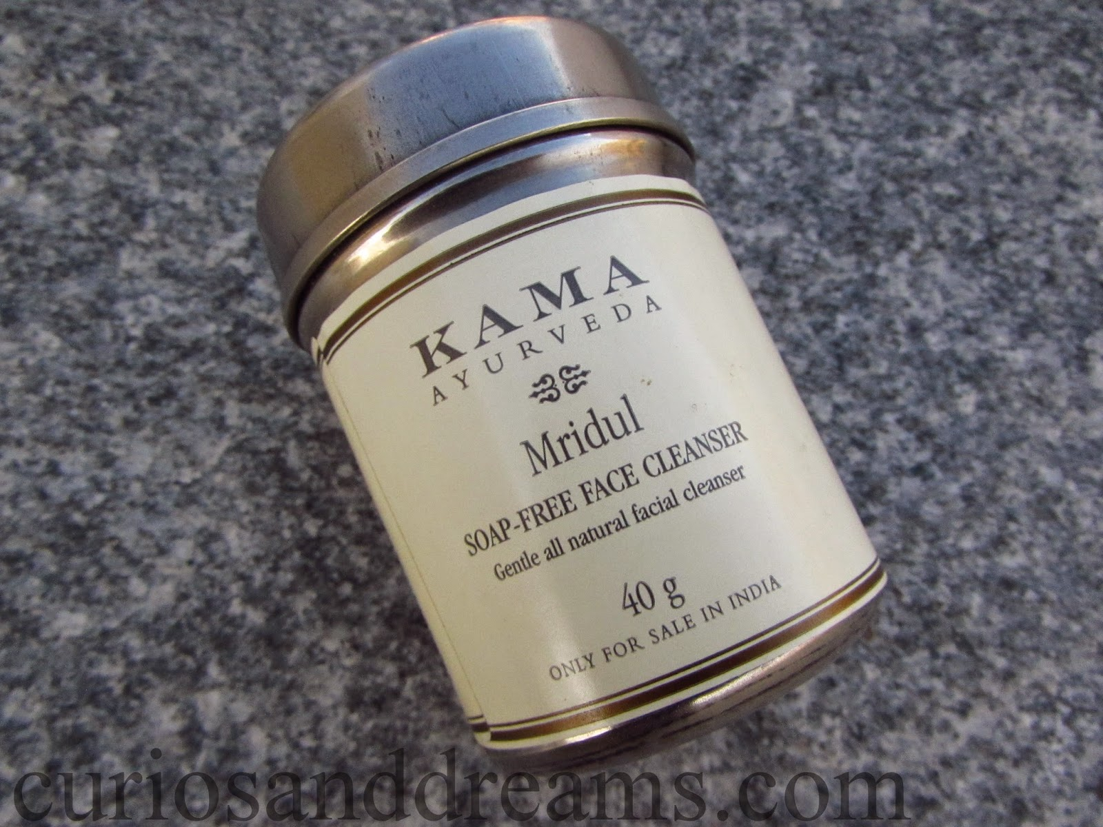 Kama Ayurveda Mridul Soap-Free Face Cleanser review, Kama Ayurveda Soap-Free Face Cleanser review