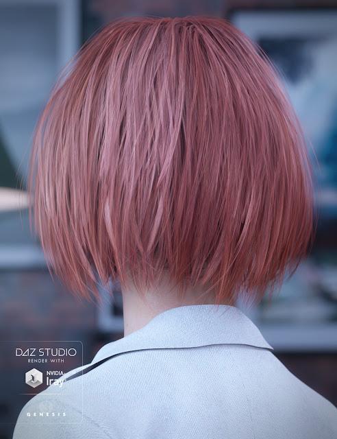Bobbity Bo Hair for Genesis 3 Female