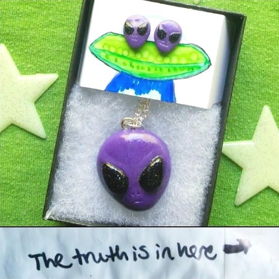 handmade alien jewelry
