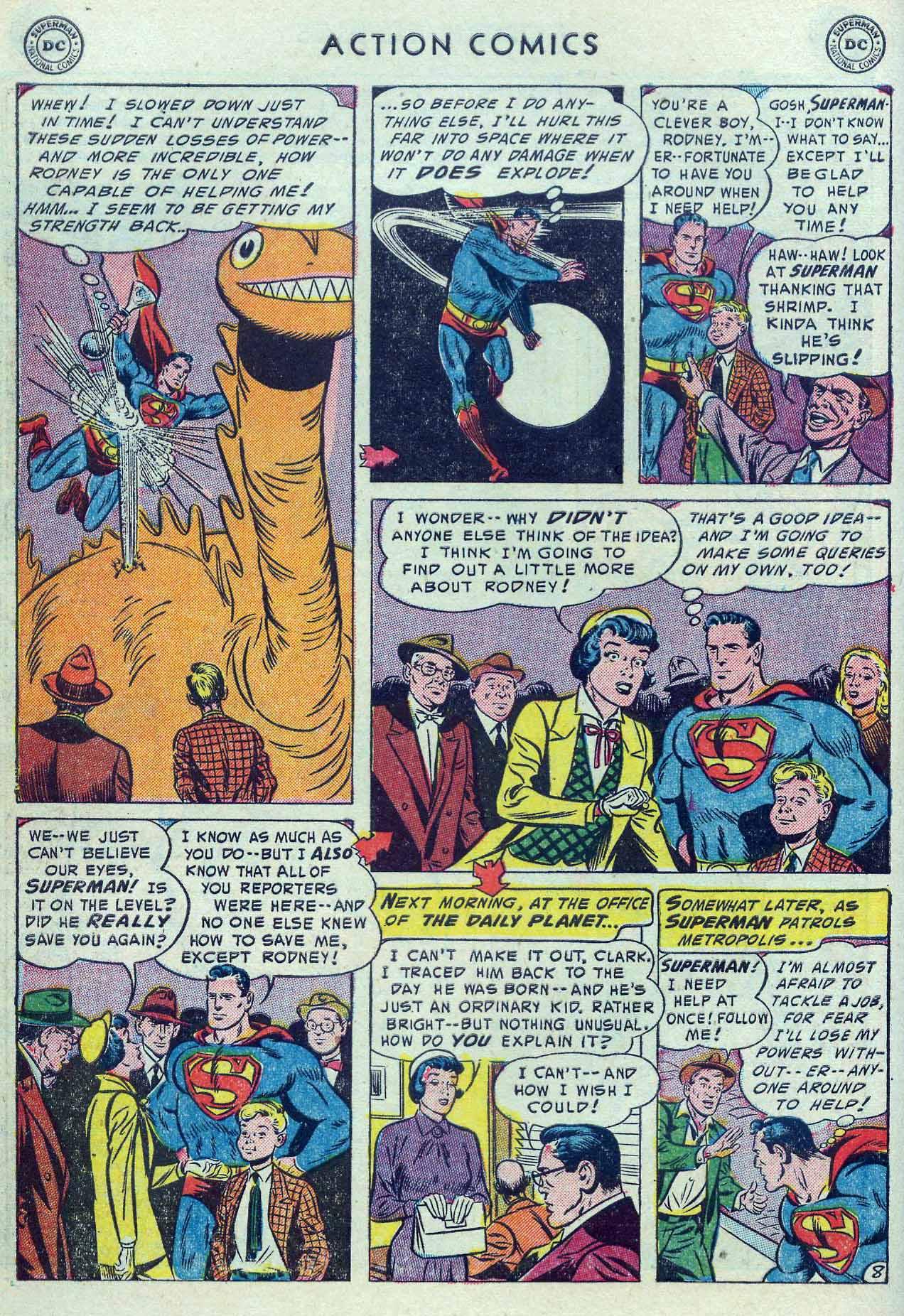 Action Comics (1938) 190 Page 9