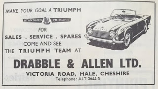 Drabble & Allen Ltd TR4 advert
