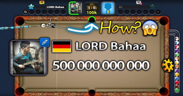 500 Billion coins 8 ball pool