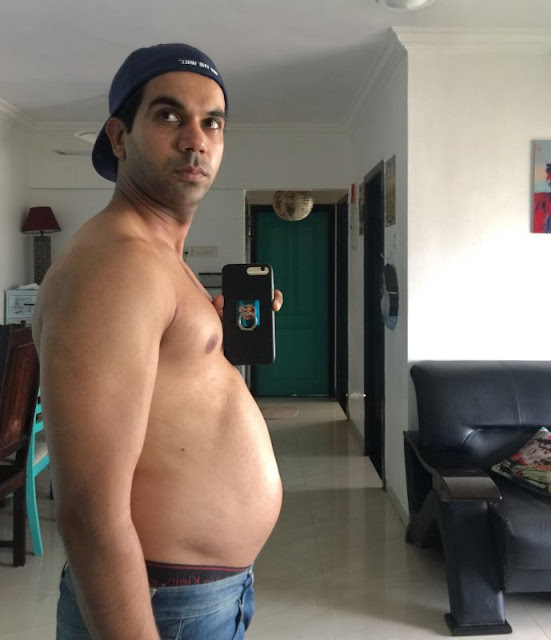Rajkummar Rao's appearance and body transformations