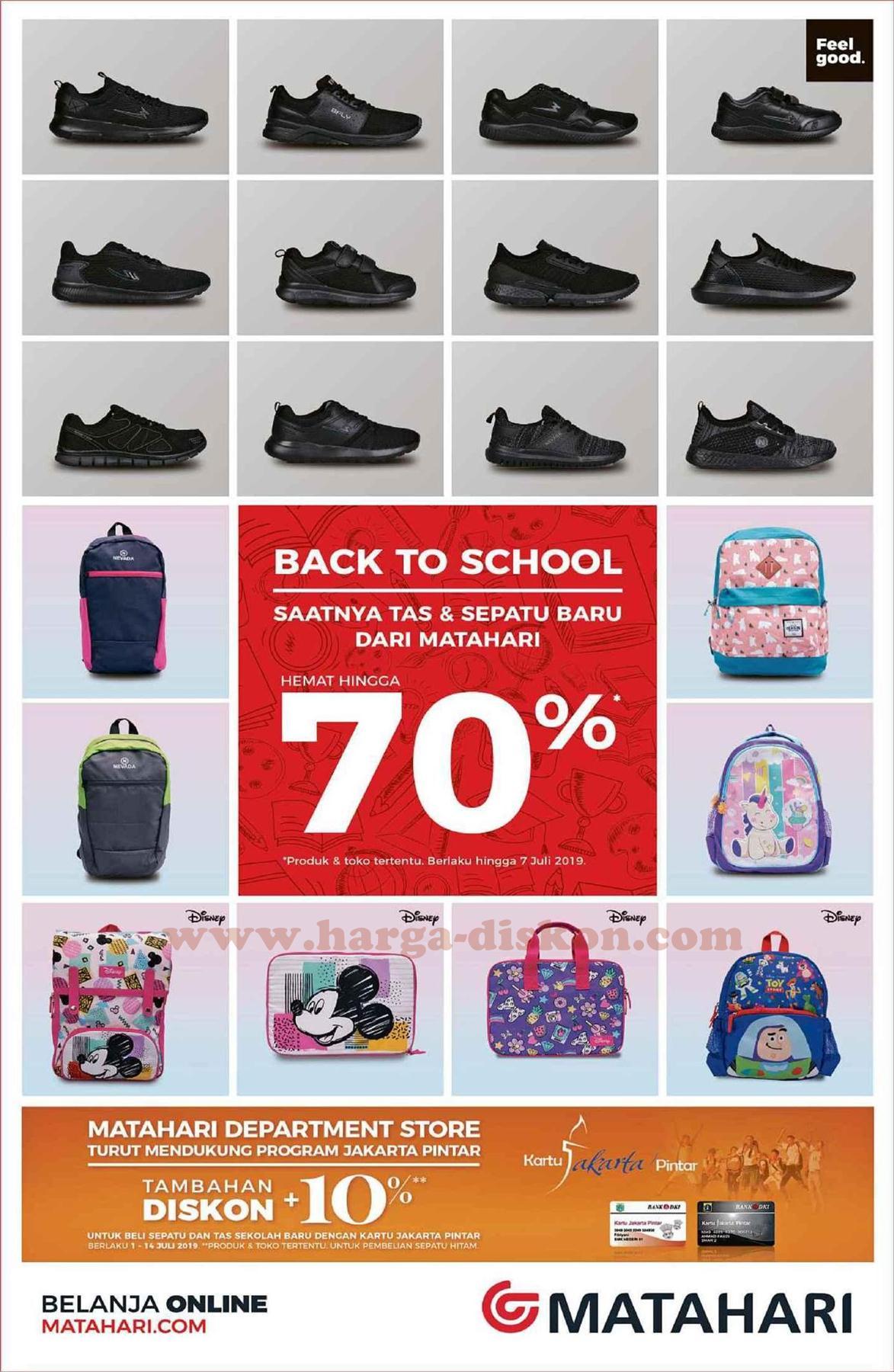 Promo Matahari Back To School Hemat Hingga 70 Periode 5 7 Juli