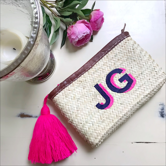 My Midlife Fashion, Initially London Ibiza Clutch,  initially london yarn tassel