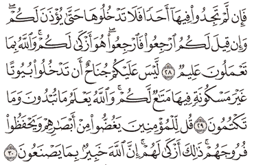 Tafsir Surat An-Nur Ayat 28, 29, 30