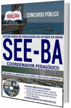 Apostila Concurso SEE-BA 2018 Coordenador Pedagógico