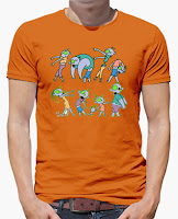 Camiseta Familia Zombie