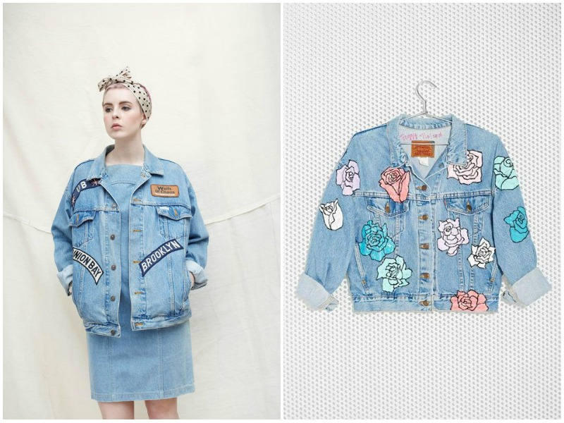 denim trends, patches, style