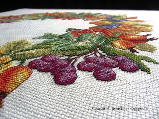 черноплодная рябина вышивка