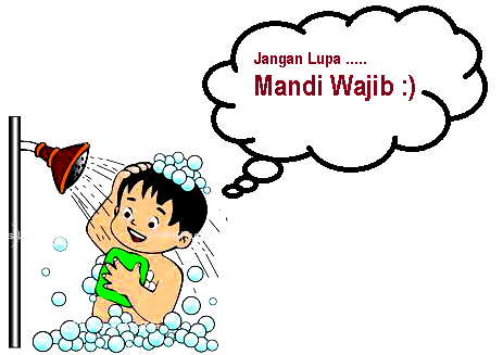 Mandi Wajib dan Tata Cara Mandi Wajib