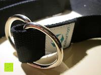 Erfahrungsbericht: Yogagurt »Madira« / Yoga-Belt Gurt 100% Baumwolle mit stabilem Metall-Ring-Verschluss / 250 x 3,8cm / in verschiedenen Farben erhältlich