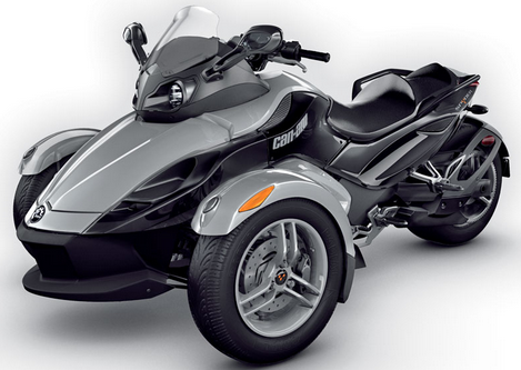 2016 Can Am Spyder Redesign