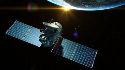 imagen ilustrativa del satélite chino Tiantong 01