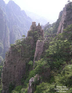 cliffs, Huang Shan