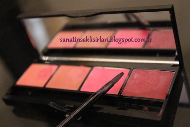 Pastel Pro Fashion Rouge Palette No: 04 Keep Calm | Pastel 4'lü Ruj Paleti