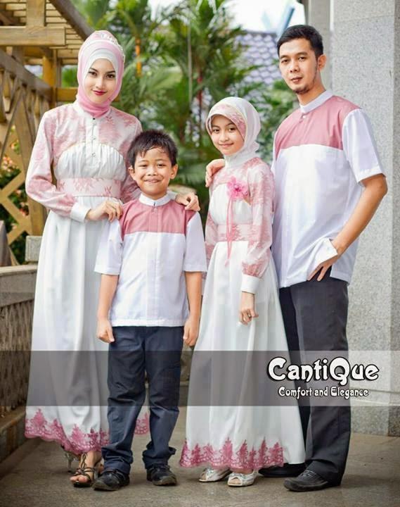 Busana Muslim Keluarga Lebaran Terbaru Model Hijab Terbaru 2016 Merk