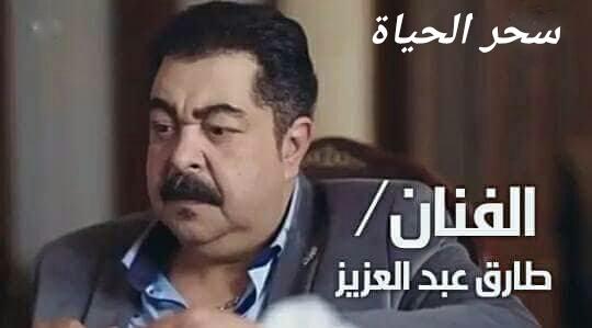 """""""طارق عبد العزيز """" الفنان المتميز صاحب صاحبه"""