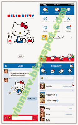 Hello Kitty Official Tema Line Android
