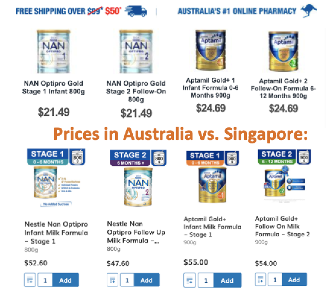 SG Budget Babe: Infant Formula Milk - Which is best?