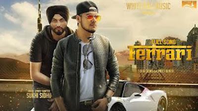 Ferrari Song Lyrics - Sukhi Sidhu | Punjabi Songs 2017