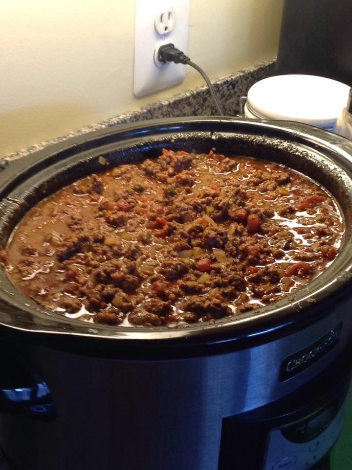 Not Quite Jimmy Fallon's Crock-Pot Chili
