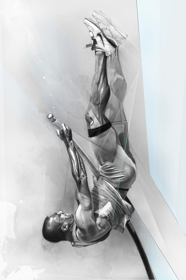 10-Ashton-Eaton-Alexis-Marcou-Traditional-and-Digital-Celebrity-Drawings-www-designstack-co