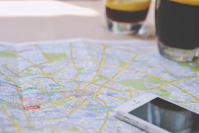 Tourist map of Berlin
