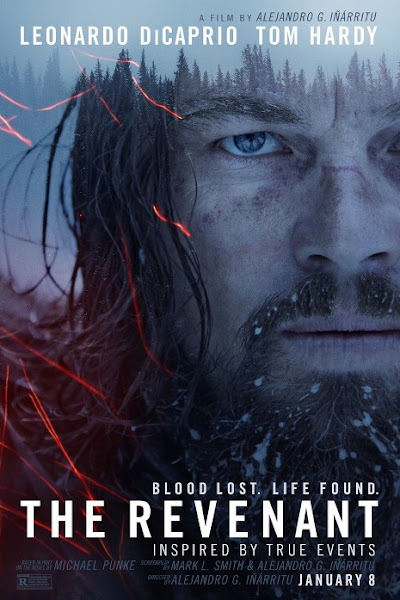 Poster of The Revenant 2015 [English-DD5.1] 720p BluRay With Hindi Subtitles Download
